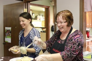 Denise & Cathy  (true servants / servers !)